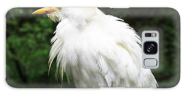 Egret Feeling Ruffled Galaxy Case