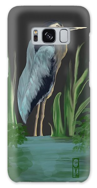 Egret I Galaxy Case