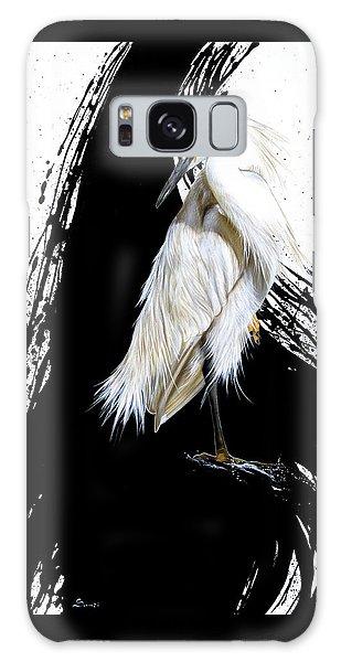 Egret Galaxy Case