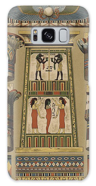 Egypt Galaxy Case - Egyptian, Architecture And Painting by Egyptian School