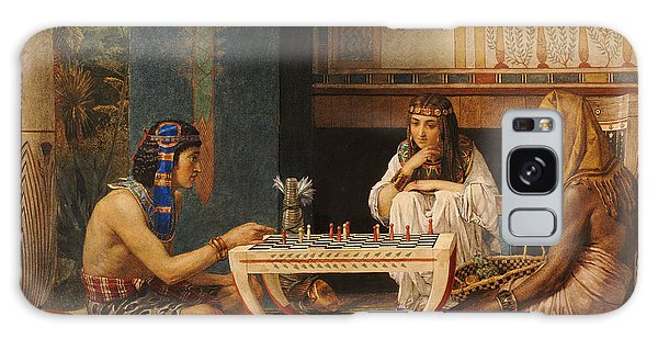 Egypt Galaxy Case - Egyptian Chess Players by Sir Lawrence Alma-Tadema