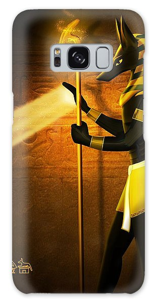 Egyptian God Anubis Galaxy Case