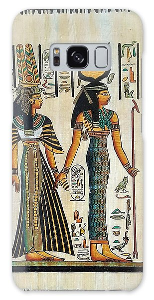 Galaxy Case - Egyptian Papyrus by Rob Hans