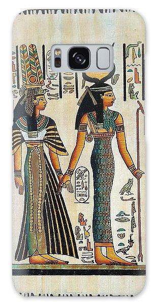 Egyptian Papyrus Galaxy Case