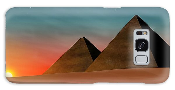 Egyptian Pyramids Galaxy Case