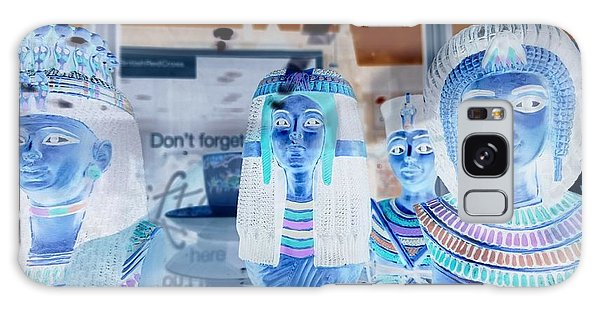 Egyptian Statues Galaxy Case