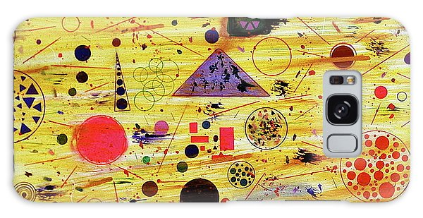 Galaxy Case featuring the painting Egyptian Sunrise by Michael Lucarelli