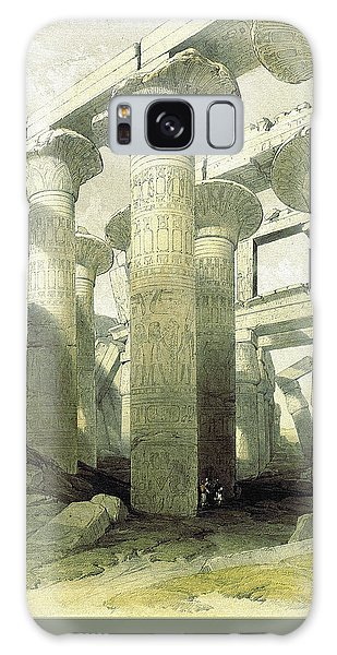 Egyptian Temple No 3 Galaxy Case by Robert G Kernodle