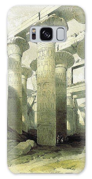 Egyptian Temple No 3 Galaxy Case