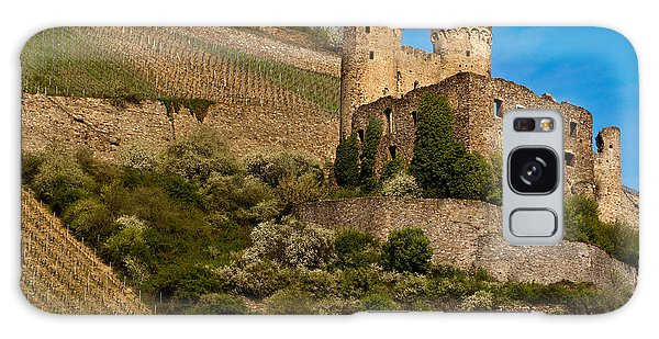 Ehrenfels Castle Ruin Galaxy Case by Jill Smith
