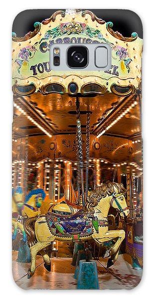 Eiffel Carrousel Galaxy Case