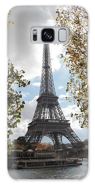 Eiffel From Avenue De New York Galaxy Case