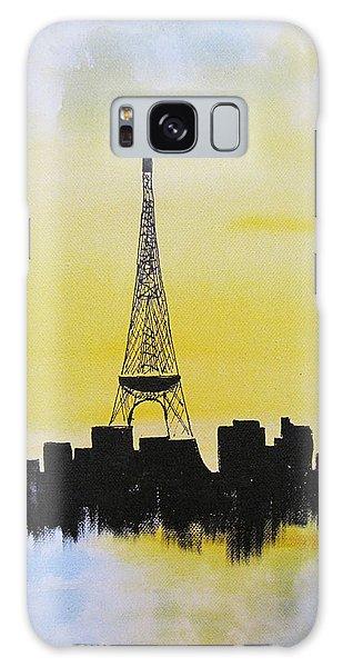Eiffel Of Paris Galaxy Case