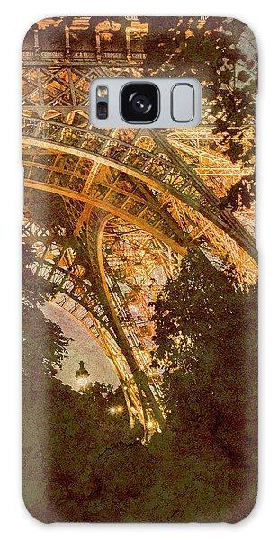Paris, France - Eiffel Oldplate II Galaxy Case