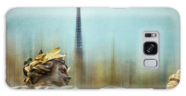 Eiffel Tower 1 Galaxy Case by Marty Garland