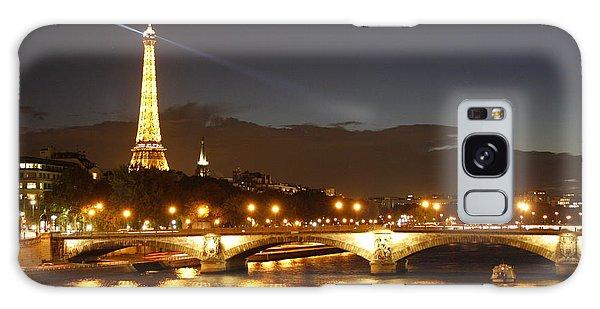 Eiffel Tower By Night Galaxy Case