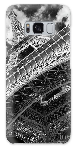 Eiffel Tower Infrared Abstract Galaxy Case