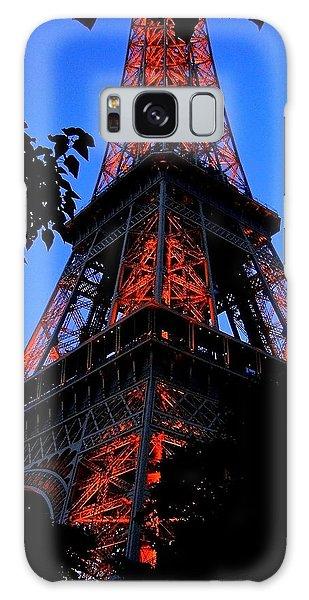Eiffel Tower Galaxy Case by Juergen Weiss