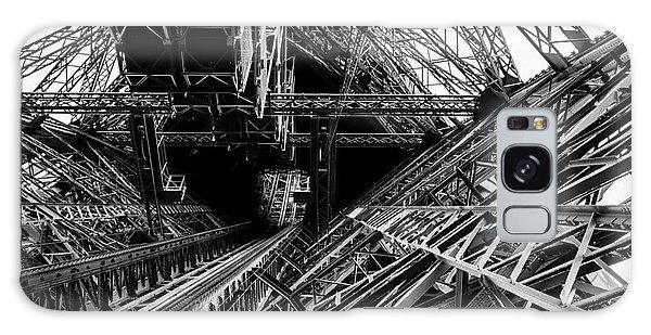 Eiffel Tower Galaxy Case by M G Whittingham