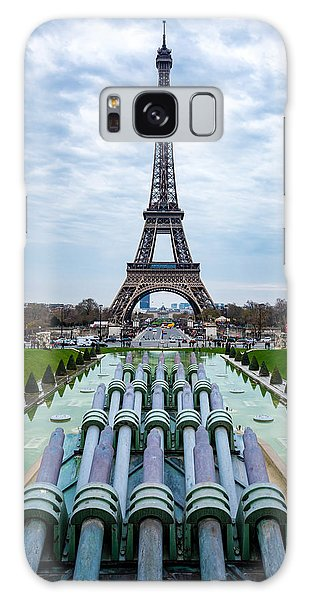 Eiffeltower From Trocadero Garden Galaxy Case