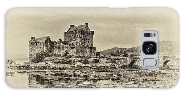 Eilean Donan Castle Galaxy Case