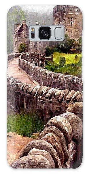 Eilean Donan Castle Galaxy Case by James Shepherd