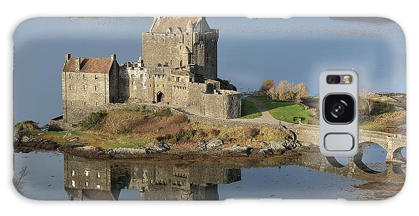 Eilean Donan Castle Reflections Galaxy Case