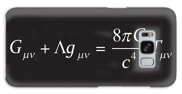 Einstein Field Equation Formula Galaxy Case