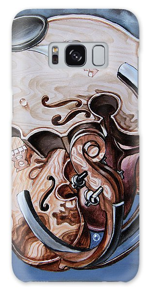 Einstein's Violin. Op.2763 Galaxy Case