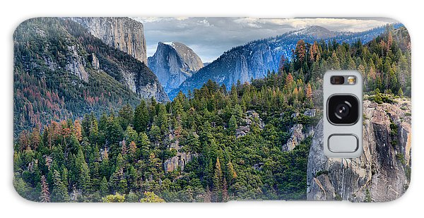 El Capitan And Half Dome Galaxy Case