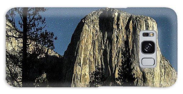 El Capitan By Starlight, Yosemite Valley, Yosemite Np, Ca Galaxy Case