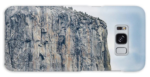 El Capitan Up Close And Personal From Tunnel View Yosemite Np Galaxy Case