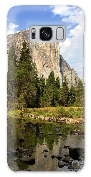 El Capitan Yosemite National Park California Galaxy Case