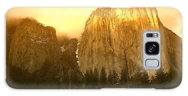 El Capitan Yosemite Valley Galaxy Case