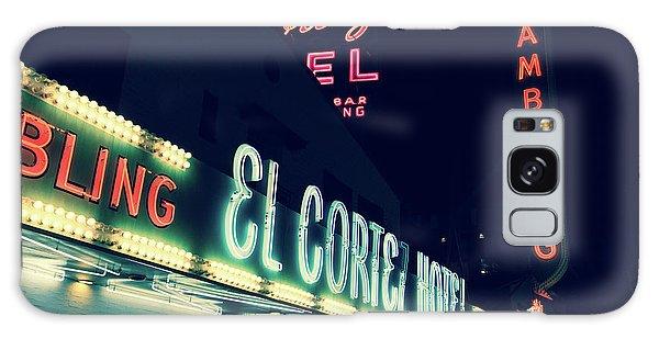 El Cortez Hotel At Night Galaxy Case