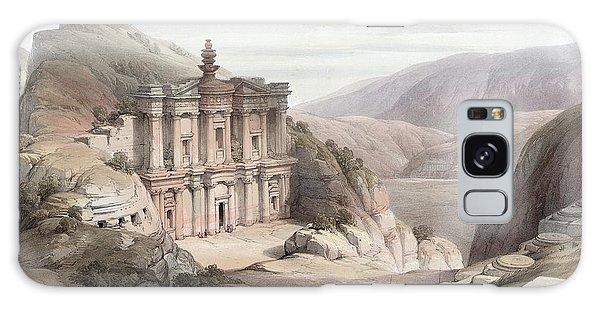El Deir Petra 1839 Galaxy Case