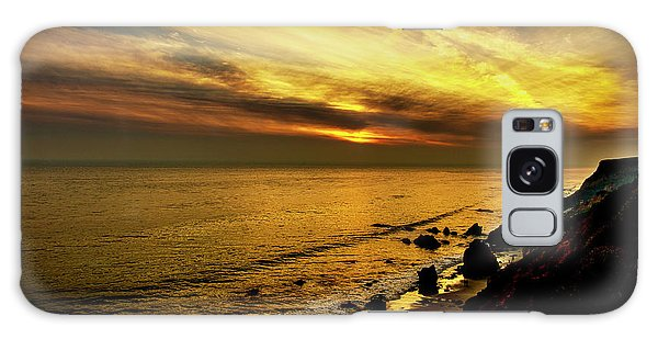 El Matador Beach Sunset Galaxy Case