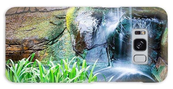 El Paso Zoo Waterfall Long Exposure Galaxy Case