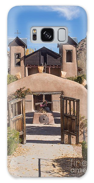 El Santuario De Chimayo Church Galaxy Case