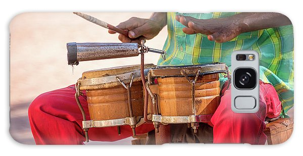Drum Galaxy S8 Case - El Son De Cuba by Delphimages Photo Creations