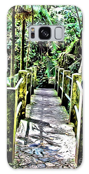 Breathe Galaxy Case - El Yunque Bridge by Carey Chen