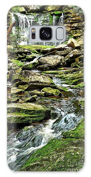 Elakala Falls At Blackwater Falls State Park Galaxy Case