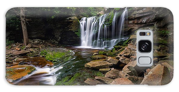 Elakala Falls On Shays Run Blackwater Falls State Park Galaxy Case