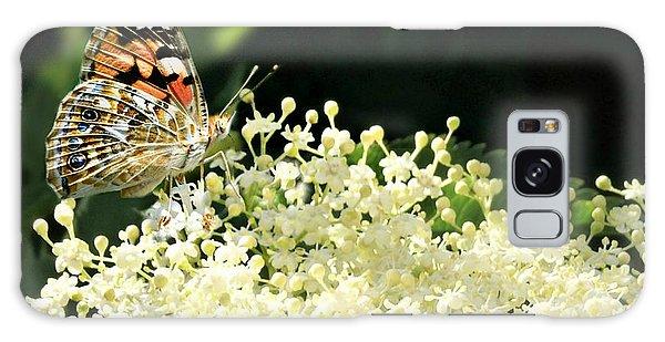 Elderflower And Butterfly Galaxy Case