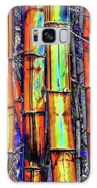 Electric Bamboo 3 Galaxy Case