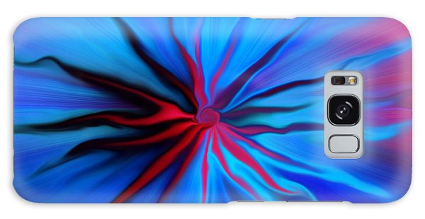 Electric Blue 2 Galaxy Case