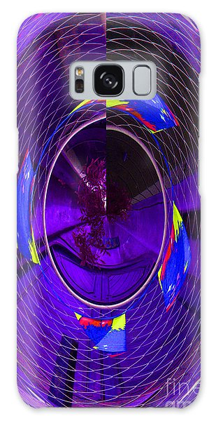 Electric Blue Galaxy Case by Nareeta Martin
