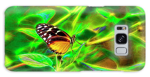 Electric Butterfly Galaxy Case