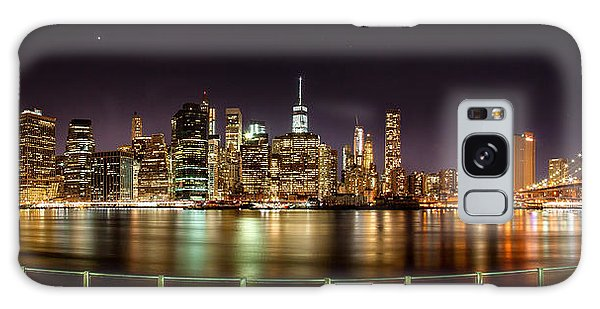 Weathered Galaxy Case - Electric City by Az Jackson