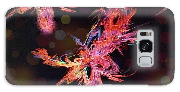 Electric Flowers Galaxy Case